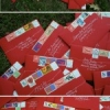 i heart envelopes: ruby beauties