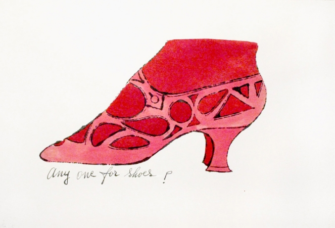 Andy Warhol Shoe